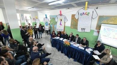 """Sos Scuola, la campagna di """"Repubblica""""   video  : l'istituto Vittorino Da Feltre riavrà il suo campetto e la palestra"""