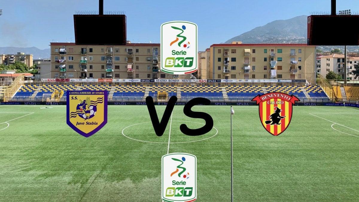 La Juve Stabia ferma la capolista Benevento, il derby campano ...