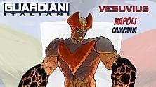 Vesuvius, nuovo supereroe campano