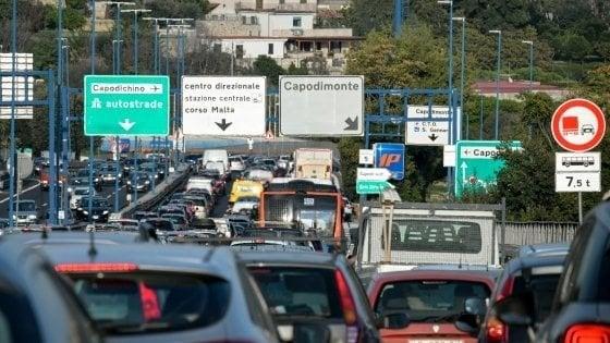 Tangenziale: riaprono tutte e tre le corsie del Viadotto Capodichino