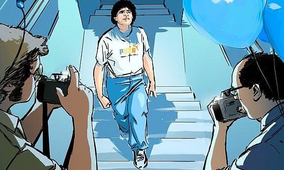 """Maradona napoletano, il film di Kapadia su Netflix. Gli aneddoti del regista al Modernissimo: """"Io e il suo piede sinistro"""""""