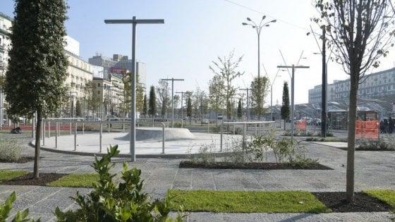 """Si inaugura la nuova Piazza Garibaldi, Cascetta: """"Entro il 2020 pronte la stazione Duomo e la Linea 6"""""""