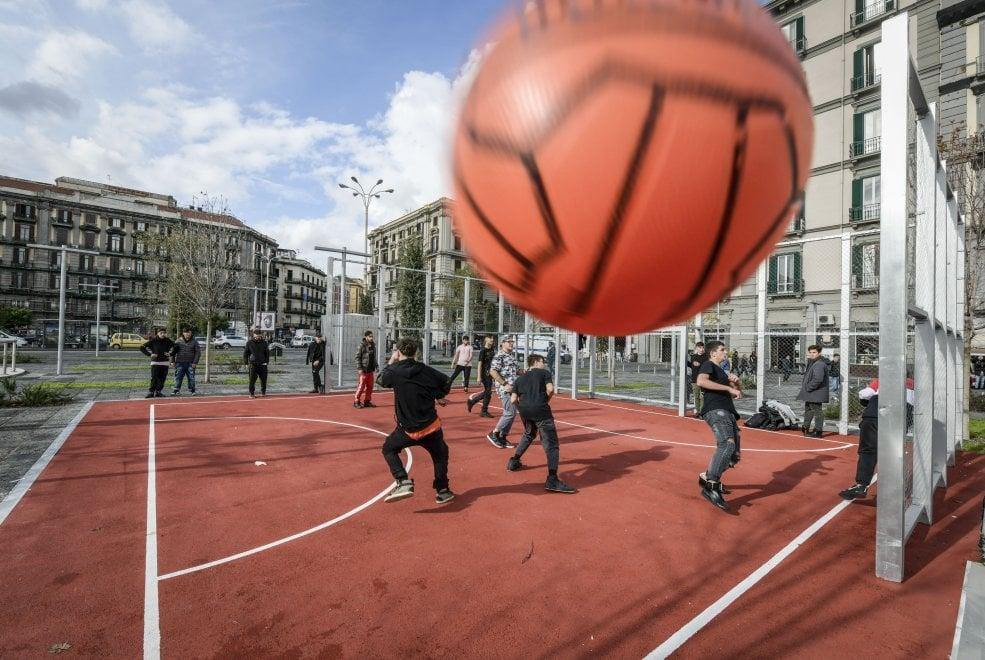 Alberi, giochi e anfiteatro la nuova piazza Garibaldi