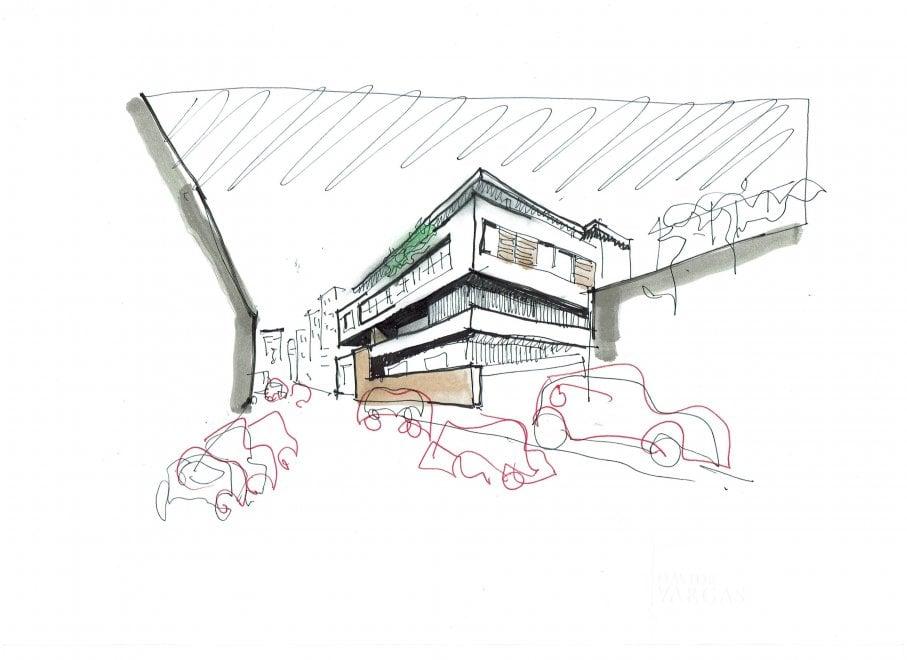 Ordine degli Architetti: una mostra sui disegni di Vargas, pubblicati su Repubblica