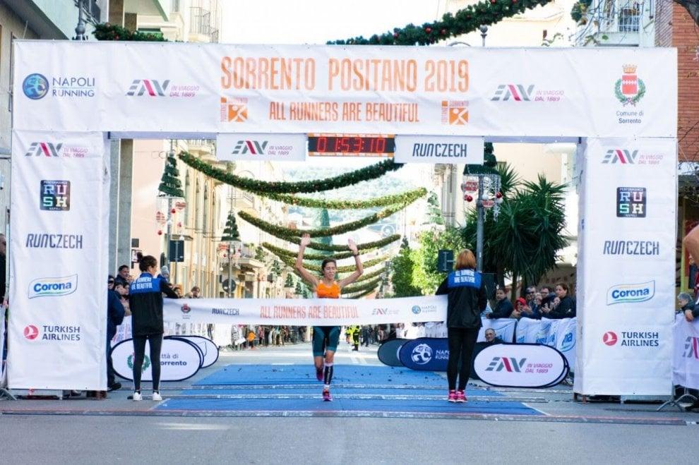 Iannone e Livi vincono la Sorrento-Positano tra sorrisi e lacrime