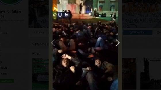 """Fridays For Future"", corteo a Napoli contro Cop21Med e De Luca"