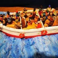 """Padula, polemiche per il Gesù che nasce tra i migranti: """"Mistifica la tradizione"""""""