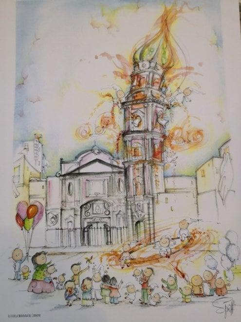 Al teatro Bellini di Napoli il calendario di Spiff (Andrea Maresca)