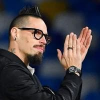 "Champion- Napoli, Hamsik al San Paolo: ""Una enorme emozione"""