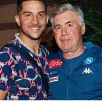 Napoli, c'è anche Insigne nei saluti social ad Ancelotti