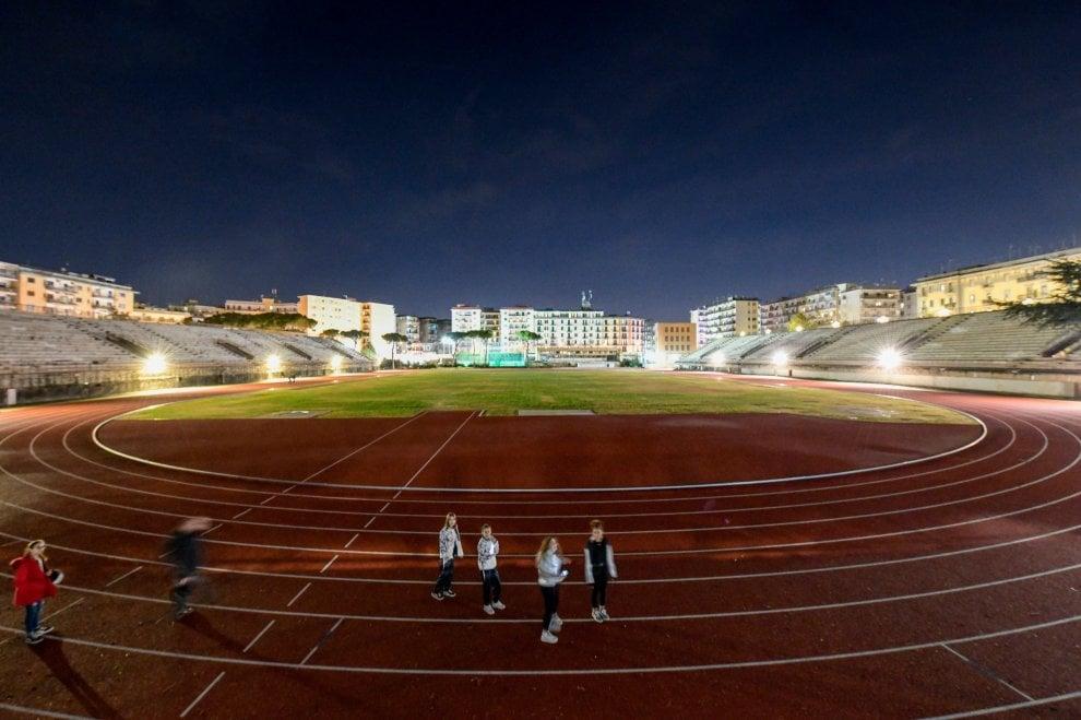 Napoli, lo stadio Collana è pronto ecco la pista e le palestre