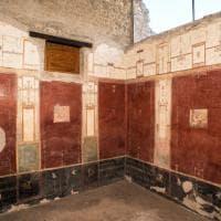 Pompei, torna visitabile per dieci giorni la Casa delle pareti rosse