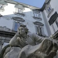 """I muri """"sgarrupati"""" del Conservatoriodi Napoli: restauro fermo"""