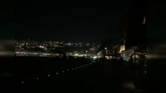 Napoli, black out sul Lungomare: un'ora di disagi per commercianti e turisti