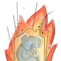 Australia in fiamme, il tributo dell'illustratrice Martina Polverino