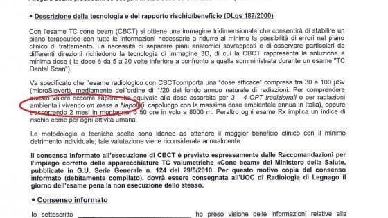 """Verona, l'ospedale avverte sui rischi di un esame radiologico: """"Come vivere un mese a Napoli"""""""