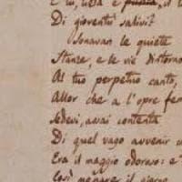 Leopardi, scoperto un articolo inedito: il poeta recensiva Dante