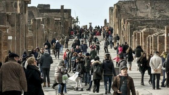 Boom dei musei campani: otto siti nella top 30 del Mibact, gli scavi di Pompei al terzo posto