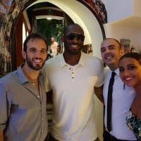 Kobe Bryant e quell'amore per Capri e la Costiera