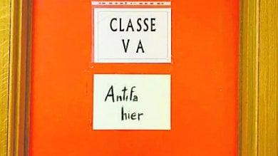 """Napoli, la lezione degli studenti:  """"Qui ci sono antifascisti"""""""
