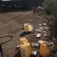 """Taniche tra le pinete del Vesuvio, la denuncia dei volontari: """"Gli operai inquinano, doppia delusione"""""""