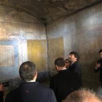 Pompei, riaprono tre domus: la presentazione del restauro con il ministro Franceschini