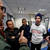 """Sardine, Santori con gli operai Whirlpool: """"Regionali? Qui anticorpi come in Emilia,..."""