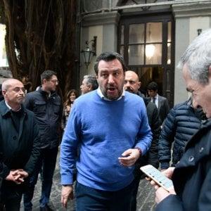 "Sardine, Salvini: ""Santori? Da mesi non vive una vita s"