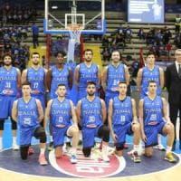 Basket, quattromila cuori per l'Italia che torna dopo 51 anni a Napoli: