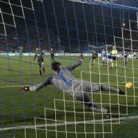 Insigne-Fabiàn, il Napoli passa anche a Brescia: 2-1