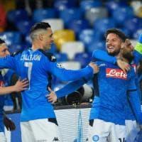 Il Napoli mette paura al Barcellona di Messi ma finisce 1-1