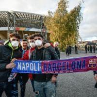 Napoli-Barcellona: i gol battono la paura del coronavirus