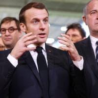 Italia-Francia, Macron a Napoli: