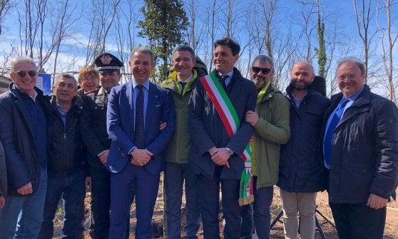 """Vesuvio, Costa inaugura il sentiero """"Fiume di lava"""" nel parco nazionale"""