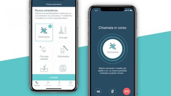 Coronavirus, ecco l'app per consulti certificati
