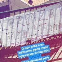 Napoli, striscione per Insigne dopo la donazione al Cotugno. Lui: