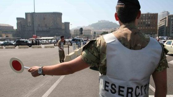 Coronavirus, arrivano i primi 100 militari: 60 in provincia di Salerno