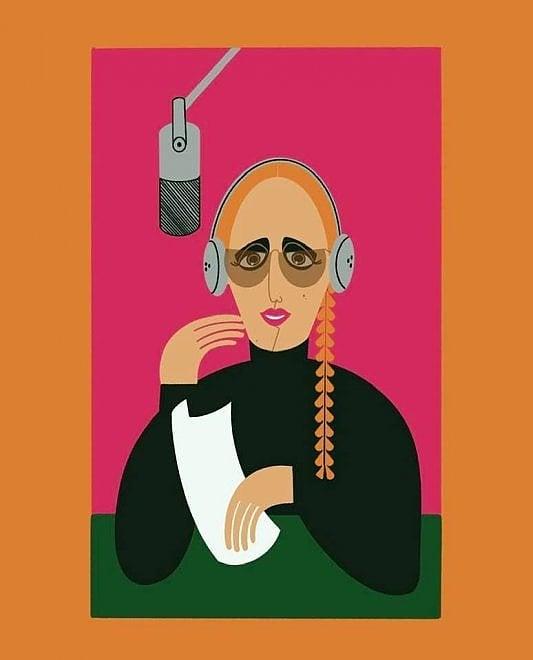Mina compie 80 anni, l'omaggio dell'illustratrice Monica Hernandez