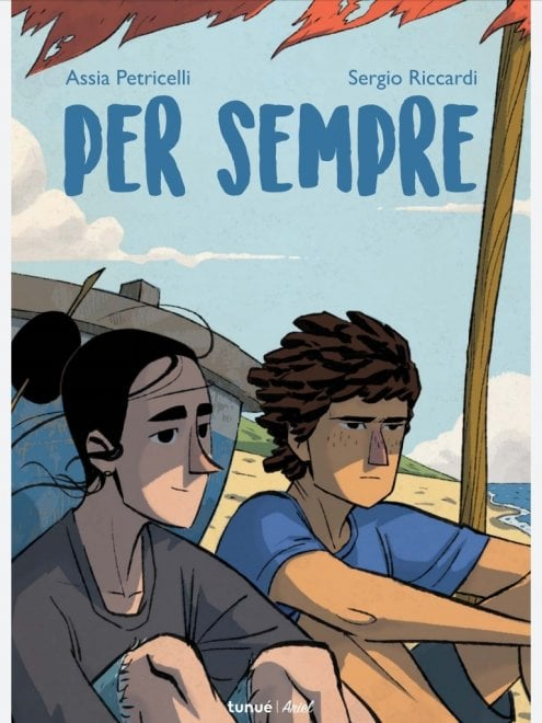 """Per Sempre"", una graphic novel giovanile che guarda a Elena Ferrante"