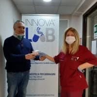 Il gruppo Innovalab dona all'Asl Napoli 1 tre kit di ultima generazione per la diagnosi molecolare del Covid-19