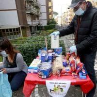 """Emergenza coronavirus: nasce a Portici il """"tavolino solidale"""" sulla scia del """"panaro solidale"""