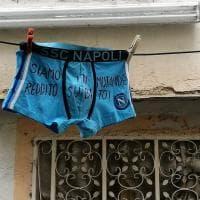Lenzuolata per il reddito di Quarantena in Campania