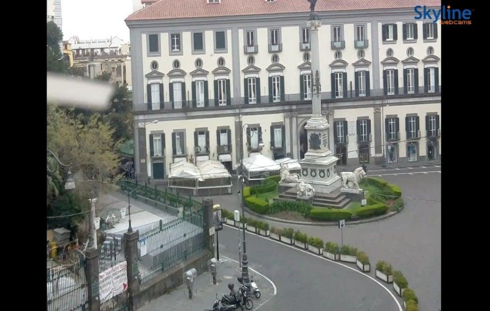 Quarantena e autoisolamento: la propria città si guarda dalla webcam