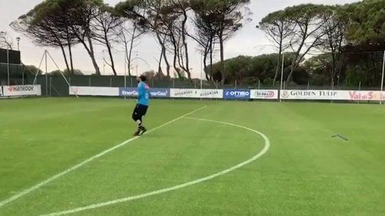 Il Napoli ritorna in campo: tre 'turni' di allenamento sotto gli ...