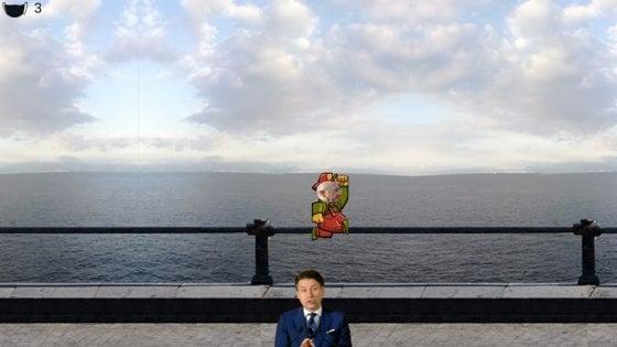De Luca come Mario Bros, un nuovo videogioco dedicato al governatore