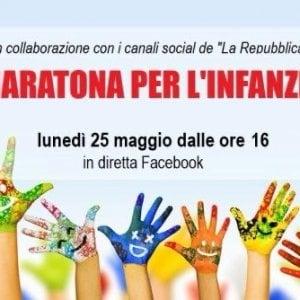 """Maratona per l'infanzia: """"Difendiamo i diritti dei bambini"""""""