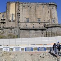 Porto di Napoli: riparte il cantiere del Molo Beverello ma con metà operai