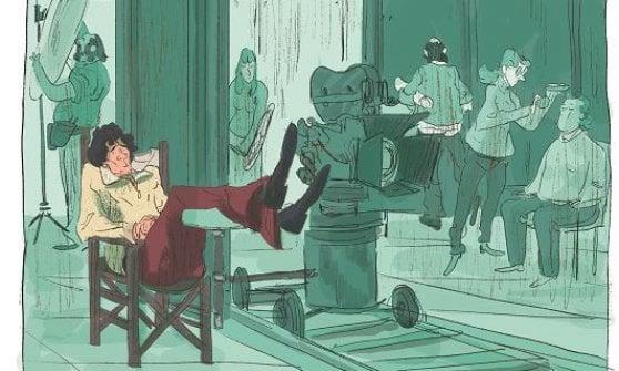 Massimo Troisi a fumetti: vita, morte e miracoli di un genio triste