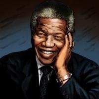 La storia in un disegno: Nelson Mandela