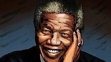 La storia in un disegno  Nelson Mandela